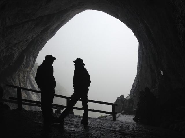 Indgangen til Eisrisenwelt